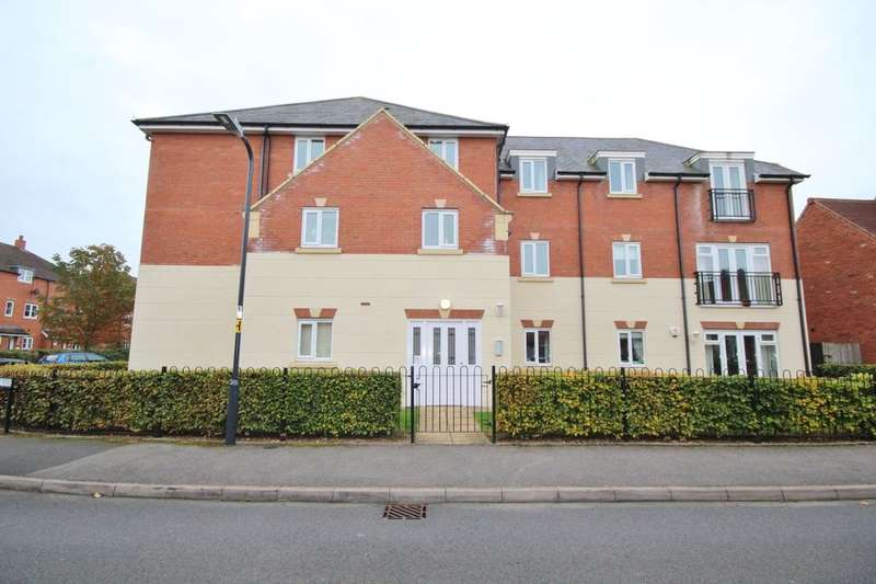 2 Bedrooms Flat for sale in Betjeman Road, Stratford-Upon-Avon, CV37