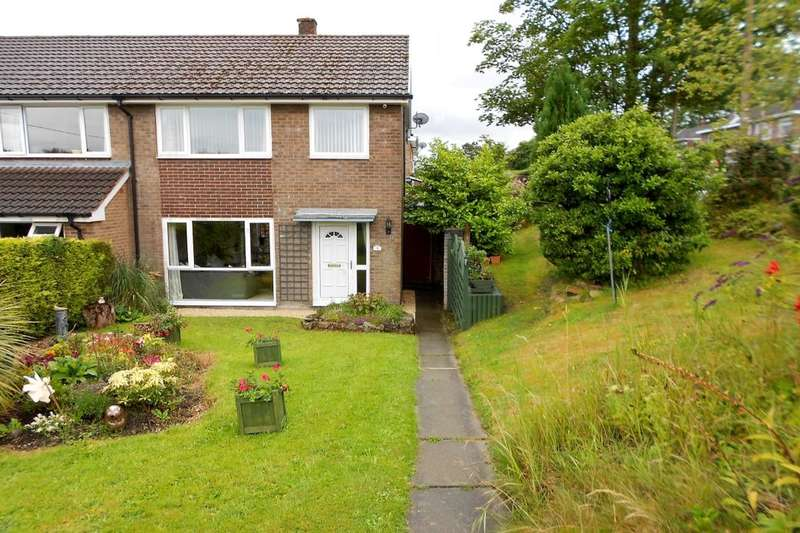 3 Bedrooms Semi Detached House for sale in Fronheulog Hill, Bwlchgwyn, Wrexham, LL11