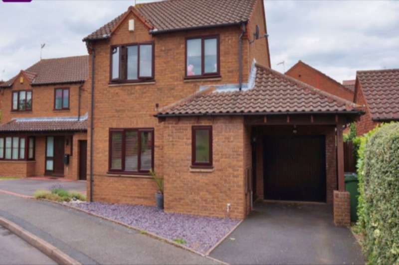 3 Bedrooms Detached House for rent in Slade Avenue, Lyppard Hanford, Worcester, WR4