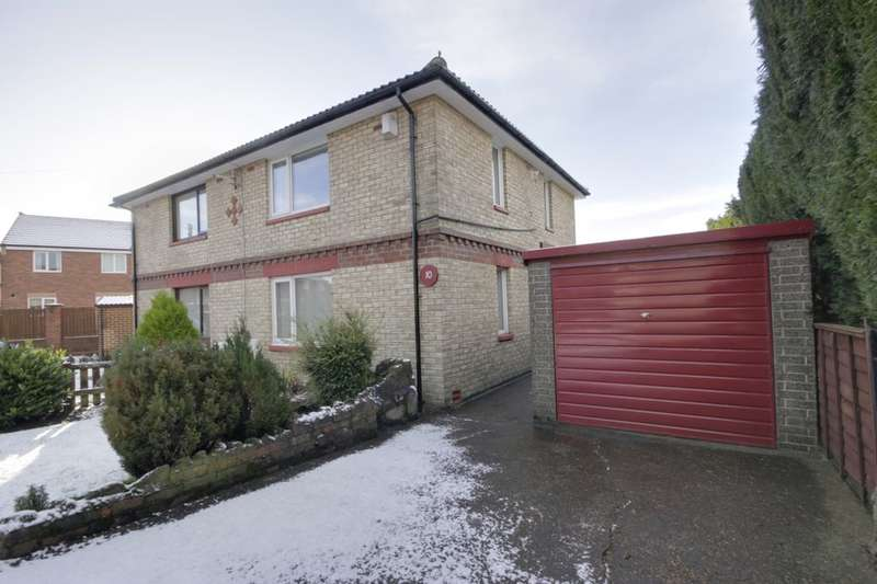 2 Bedrooms Semi Detached House for sale in Unsworth Gardens, Consett, DH8