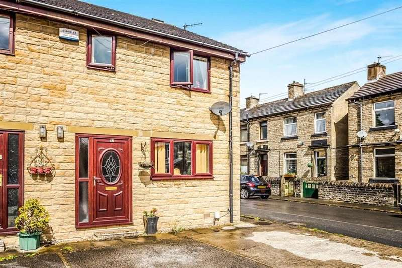 3 Bedrooms Semi Detached House for sale in Stoney Cross Street, Taylor Hill, Huddersfield, HD4