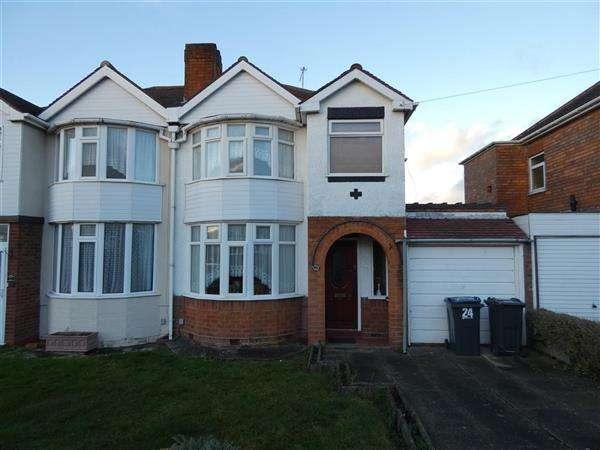 3 Bedrooms Semi Detached House for rent in Mardon Road, Sheldon, Birmingham
