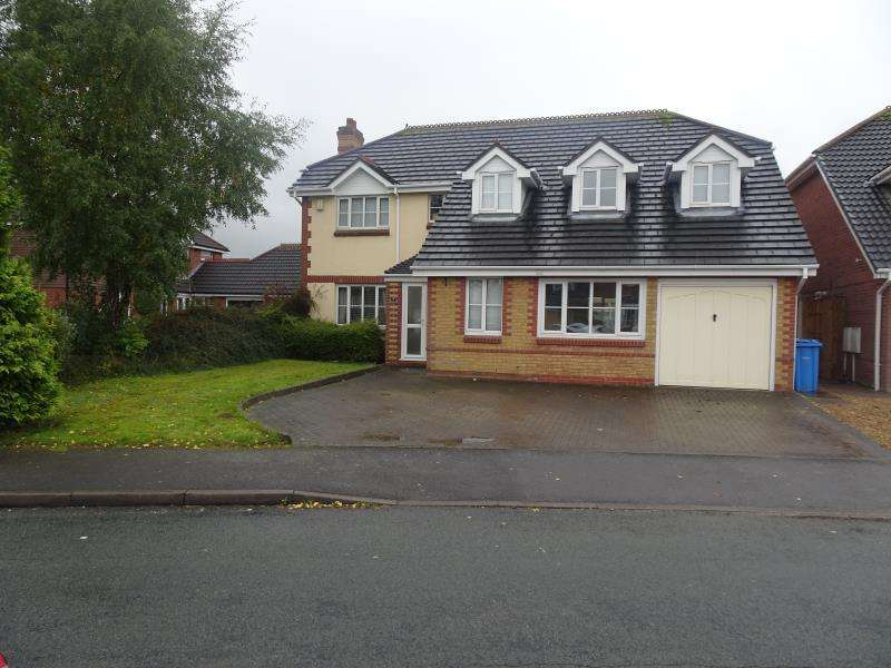5 Bedrooms Detached House for rent in St Marks Close, Great Wyrley WS6 6PZ