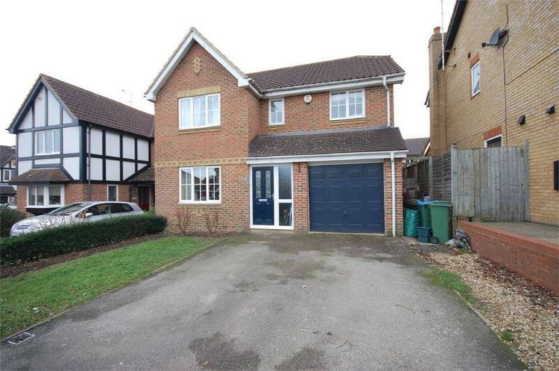 4 Bedrooms Detached House for sale in Archer Drive, Aylesbury, Buckinghamshire