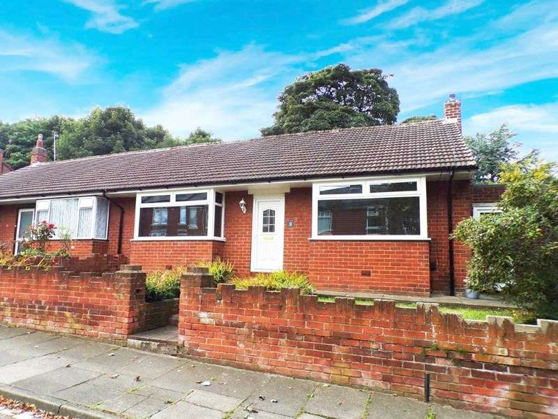 2 Bedrooms Bungalow for sale in Errington Terrace, Forest Hall, Newcastle upon Tyne, Tyne and Wear, NE12 9DQ
