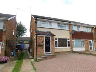 3 Bedrooms Semi Detached House for sale in Alkham Road, Vinters Park, Maidstone, Kent