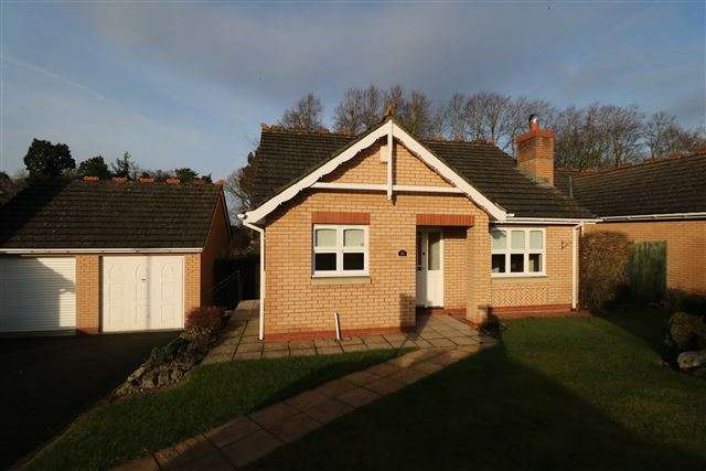 2 Bedrooms Bungalow for sale in Larch Drive, Stanwix, Carlisle, Cumbria, CA3 9FJ