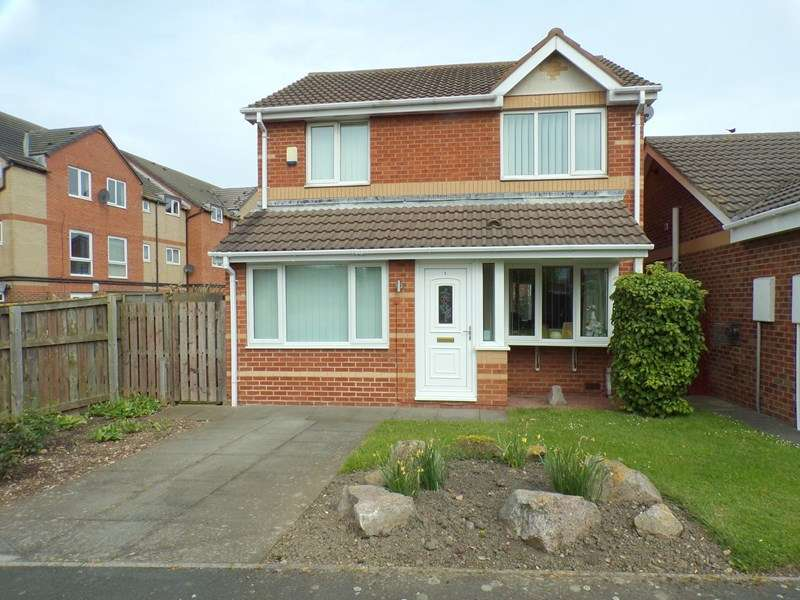 3 Bedrooms Property for sale in Telford Close, Hartlepool, Hartlepool, Cleveland, TS24 0UE