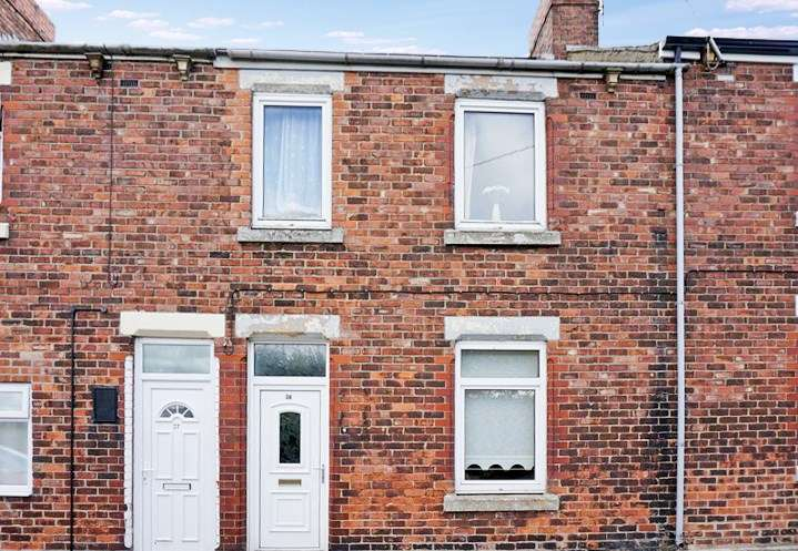 2 Bedrooms Property for sale in Brunel Street, Ferryhill, Ferryhill, Durham, DL17 8NX