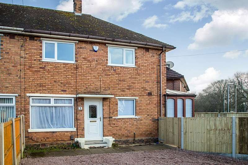 3 Bedrooms Semi Detached House for rent in Penton Place, Stoke-On-Trent, ST3