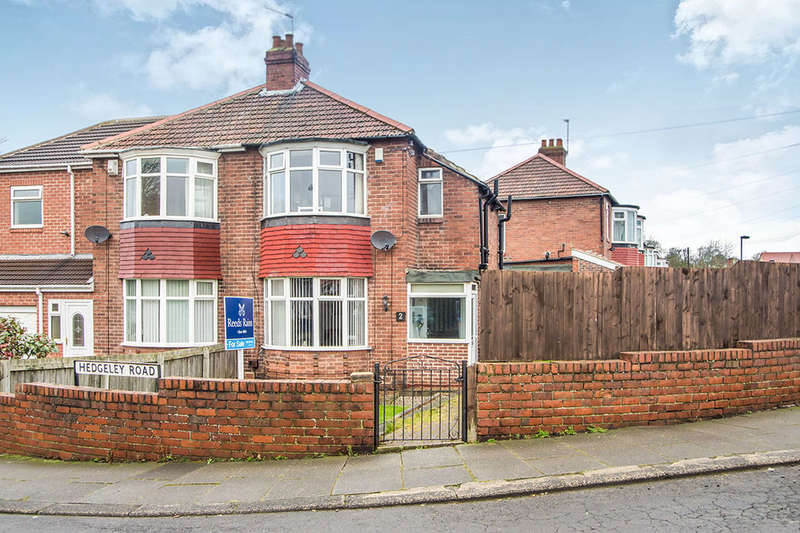 2 Bedrooms Semi Detached House for sale in Hedgeley Road, West Denton, Newcastle Upon Tyne, NE5