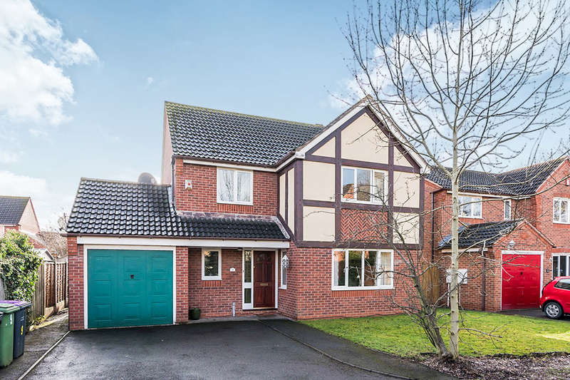 4 Bedrooms Detached House for sale in Birchwood Close, Muxton, Telford, TF2