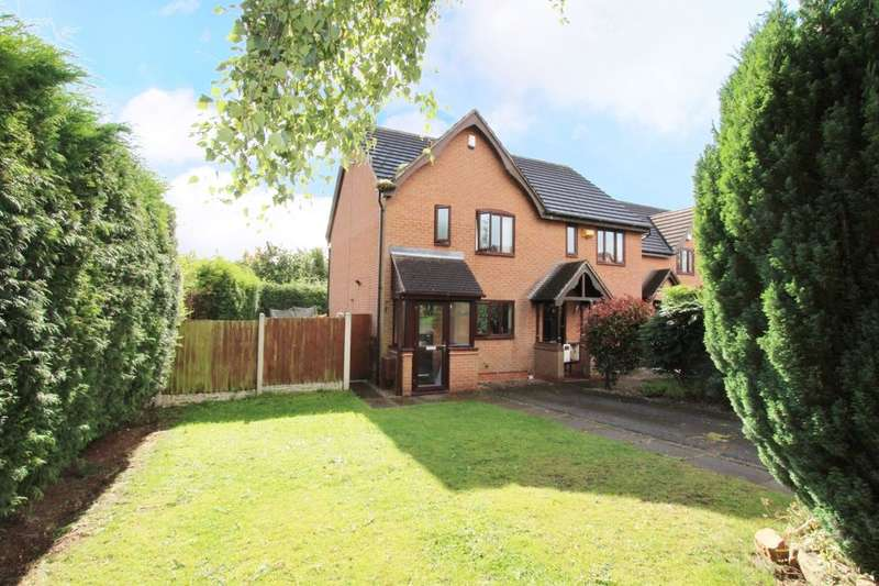 2 Bedrooms Semi Detached House for sale in Osterley Grove, Nuthall, Nottingham, NG16