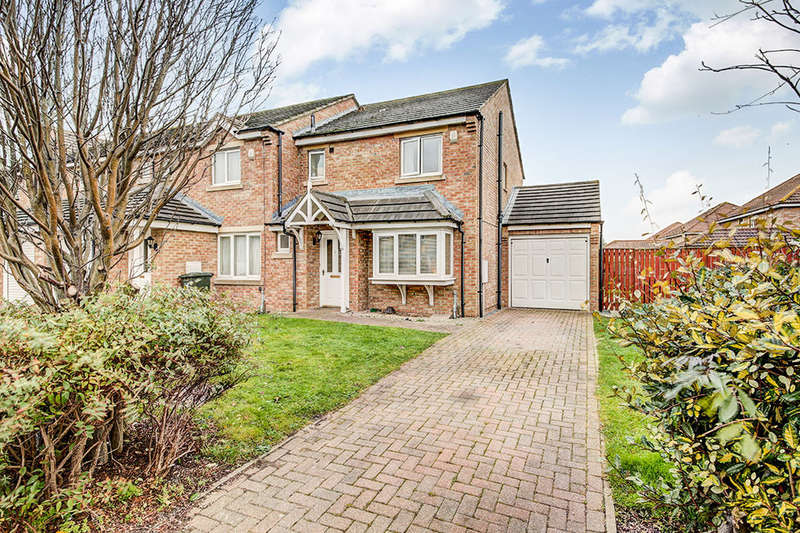 3 Bedrooms Semi Detached House for sale in Dockwray Close, North Shields, NE30
