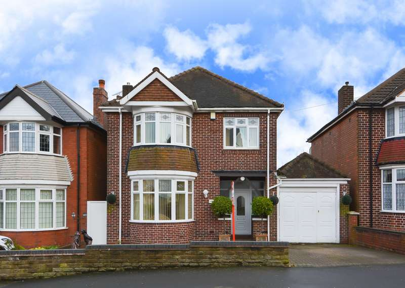 3 Bedrooms Detached House for sale in Pitcairn Road, Bearwood, B67