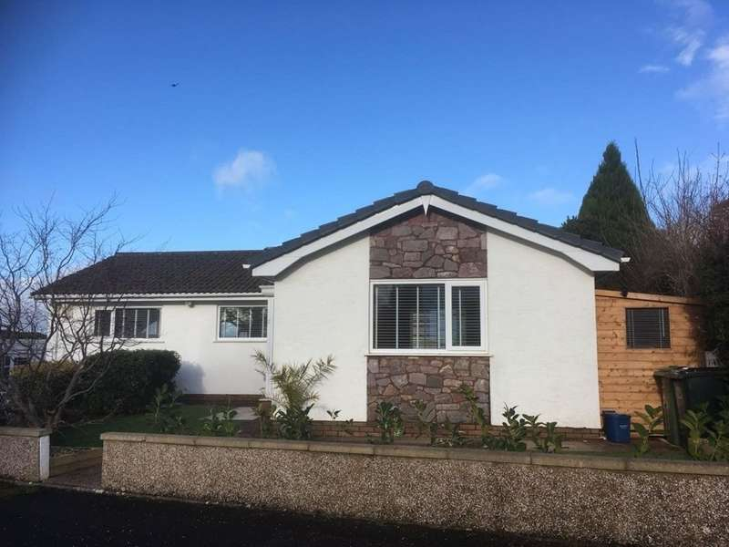 3 Bedrooms Detached Bungalow for sale in Fluder Rise, Kingskerswell