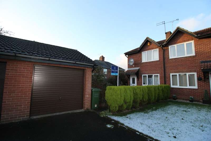 2 Bedrooms Semi Detached House for sale in Meadow Brook Close, Normanton, WF6