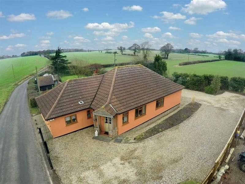 3 Bedrooms Detached Bungalow for sale in Rede Lane, Barham, Ipswich, Suffolk
