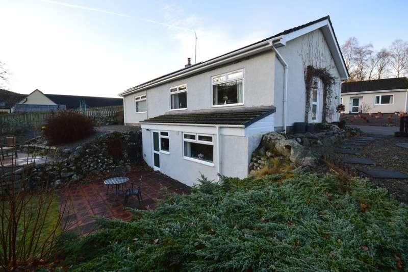 4 Bedrooms Detached Bungalow for sale in Balmacaan Road, Drumnadrochit, Inverness, IV63