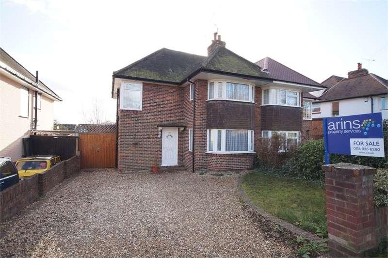 3 Bedrooms Semi Detached House for sale in Wokingham Road, Earley, READING, Berkshire