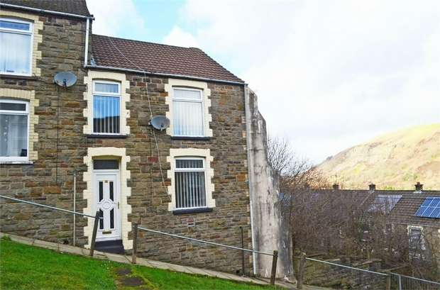 3 Bedrooms End Of Terrace House for sale in Upper Cross Street, Tirphil, New Tredegar, Caerphilly