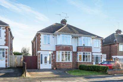 3 Bedrooms Semi Detached House for sale in Frankton Avenue, Styvechale, Coventry, West Midlands