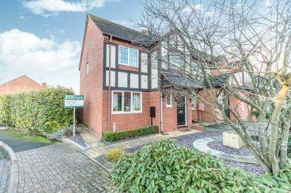 3 Bedrooms End Of Terrace House for sale in Holland Green, Warndon Villages, Worcester, Worcestershire