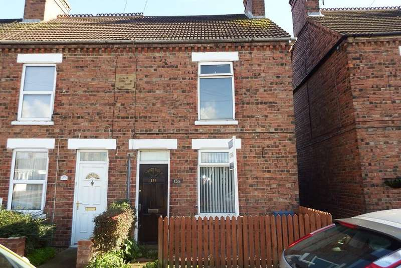 2 Bedrooms End Of Terrace House for sale in St Johns Road, Spalding, PE11