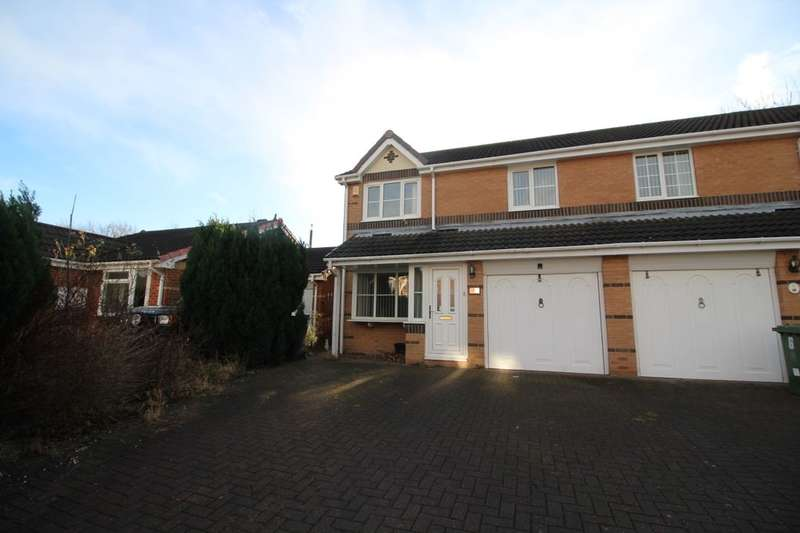 3 Bedrooms Semi Detached House for rent in Seymour Court, Gateshead, NE11
