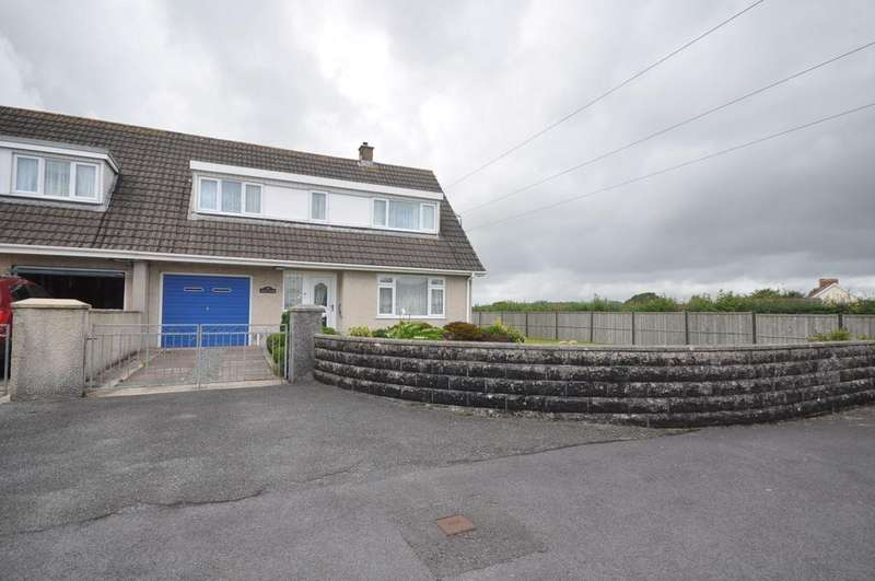 3 Bedrooms Semi Detached House for sale in Llys Ifor, Station Road, St.Clears SA33 4BX