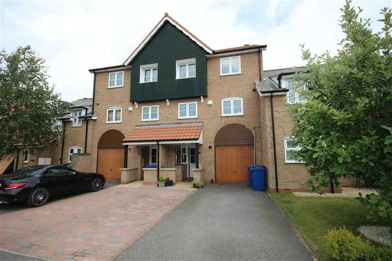 4 Bedrooms Town House for sale in Park Lane, Burton Waters, Lincoln, Lincolnshire