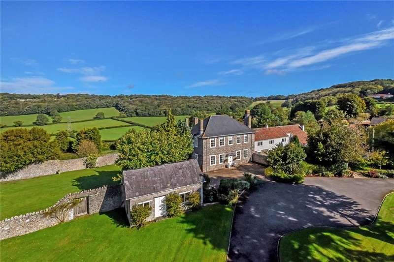 6 Bedrooms Detached House for sale in Tickenham Hill, Tickenham, Clevedon, Avon, BS21