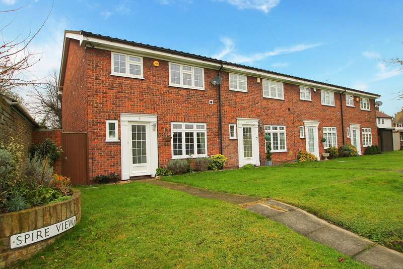 3 Bedrooms End Of Terrace House for sale in Spire View, Stanhope Heath, Stanwell, TW19
