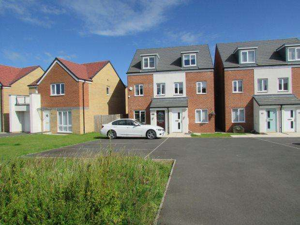 3 Bedrooms Semi Detached House for sale in MERLIN WAY, BISHOP CUTHBERT, HARTLEPOOL