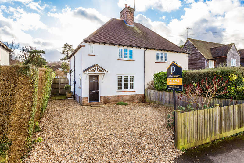 2 Bedrooms Semi Detached House for sale in Stoneleigh Road, Oxted, RH8