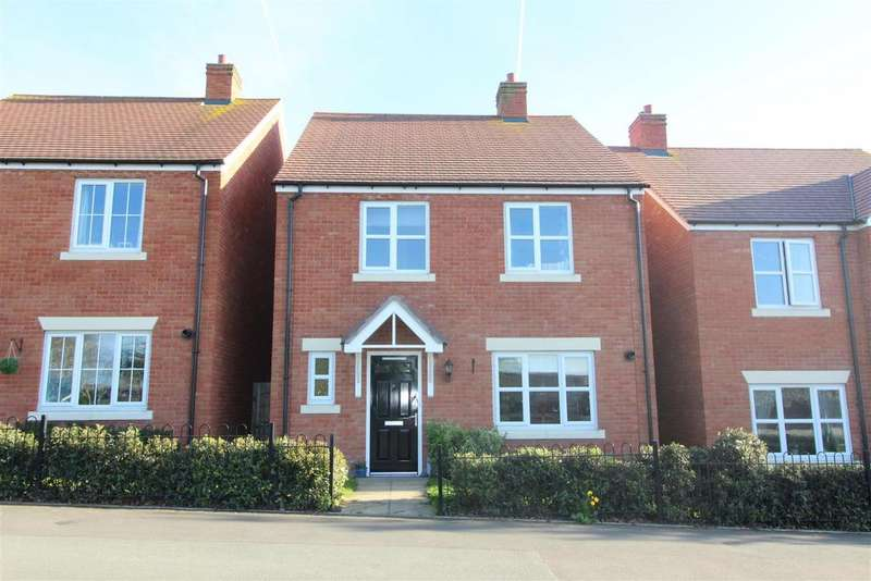 4 Bedrooms Detached House for sale in Mytton Oak Road, Shrewsbury