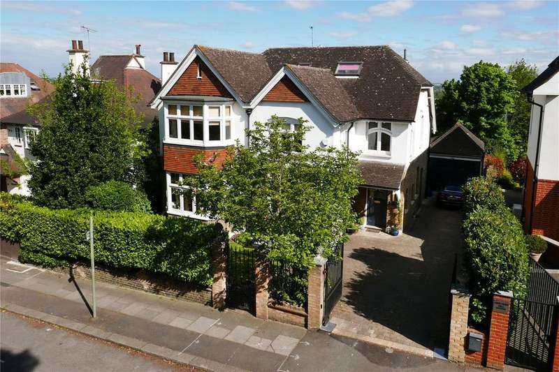 6 Bedrooms Detached House for sale in Vineyard Hill Road, Wimbledon, London, SW19