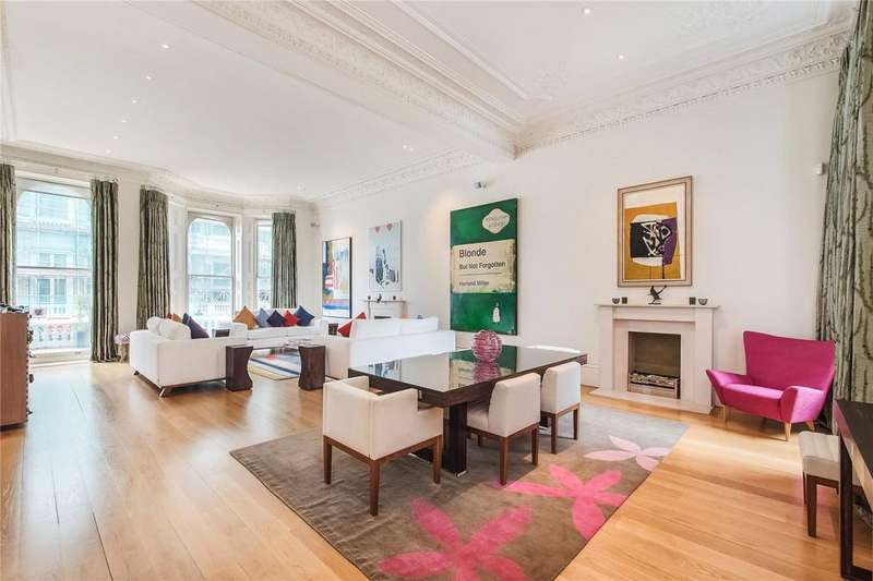 3 Bedrooms Flat for sale in Cornwall Gardens, London, SW7