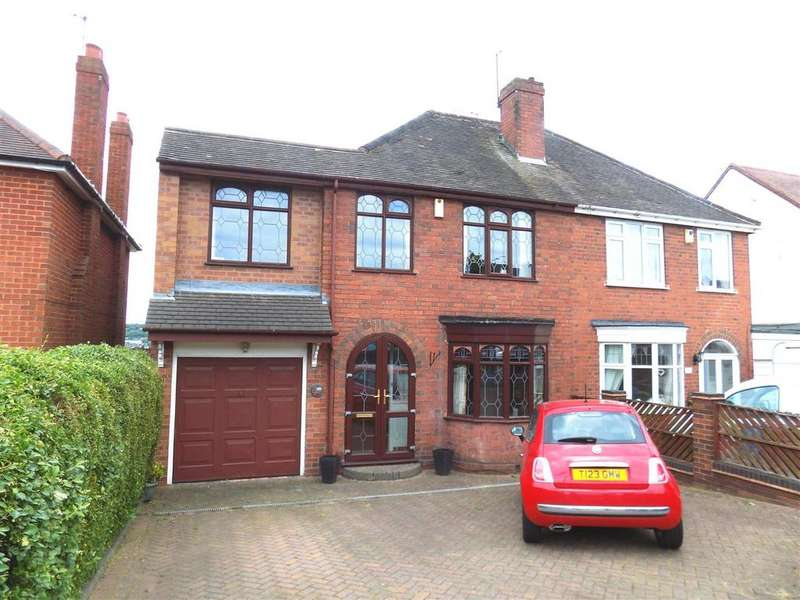 3 Bedrooms Semi Detached House for sale in Amblecote Road, Brierley Hill
