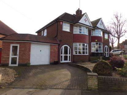 3 Bedrooms Semi Detached House for sale in Whitley Court Road, Quinton, Birmingham, West Midlands