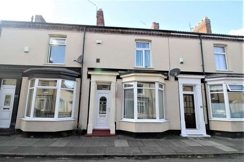 2 Bedrooms Terraced House for sale in Windsor Road, Stockton-On-Tees