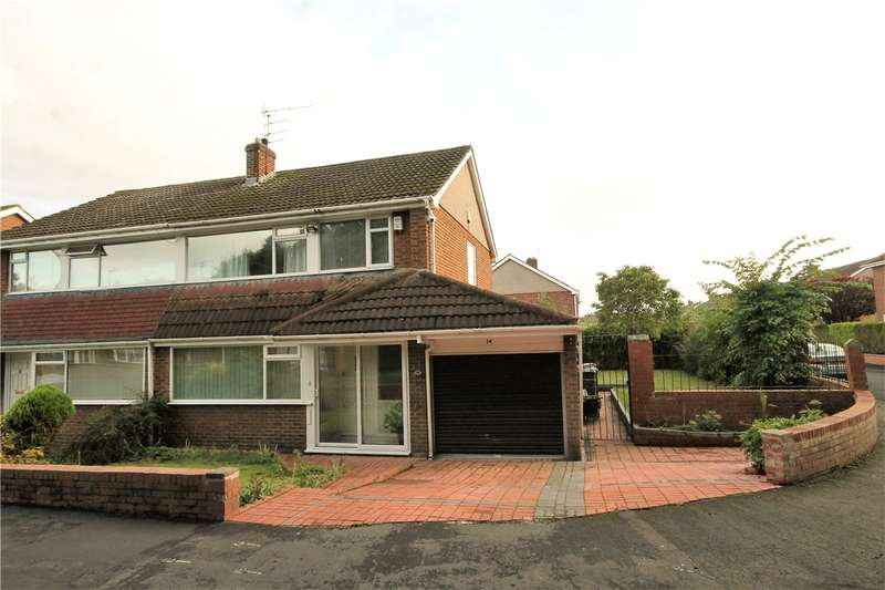 3 Bedrooms Semi Detached House for sale in Napier Close, North Lodge, Chester le Street, DH3