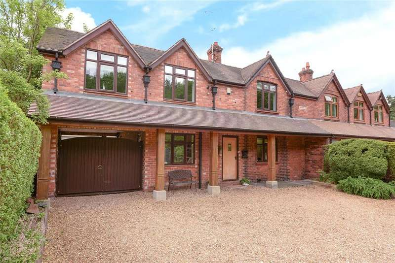 4 Bedrooms Semi Detached House for sale in Somerford View, Holmes Chapel Road, Somerford, Congleton, CW12