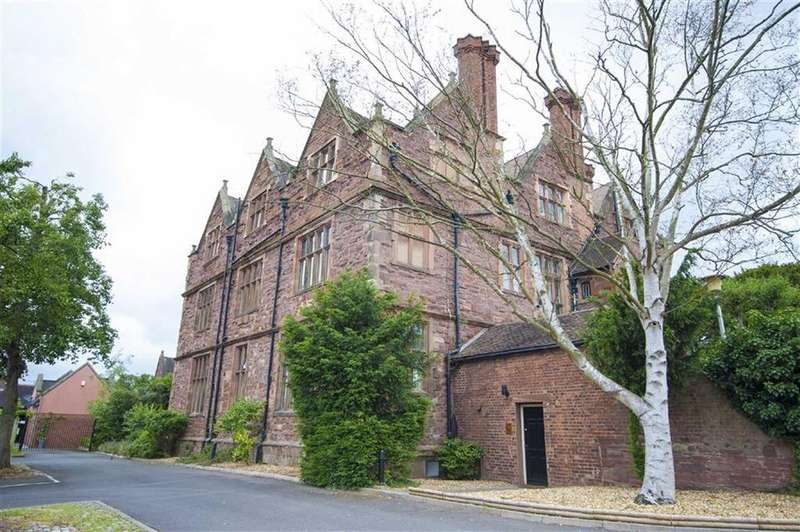 2 Bedrooms Apartment Flat for sale in Whitehall Mansions, Monkmoor, Shrewsbury, Shropshire