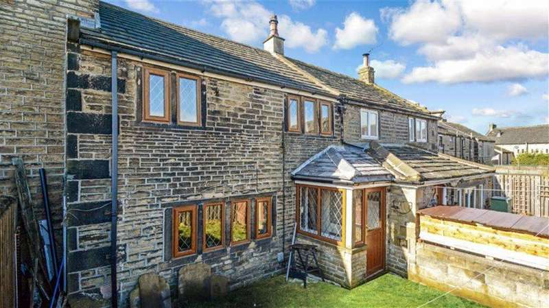 2 Bedrooms Terraced House for sale in Clarke Lane, Meltham, Holmfirth, HD9