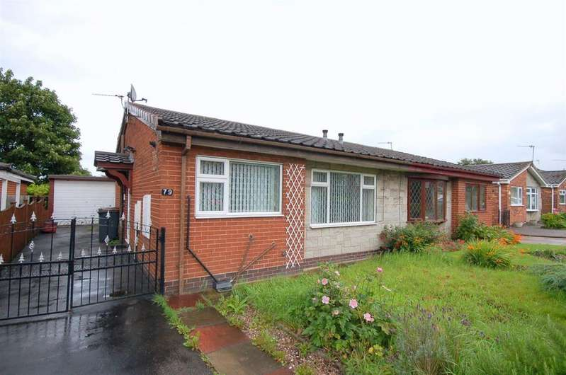 2 Bedrooms Semi Detached Bungalow for sale in Walton Way, Talke