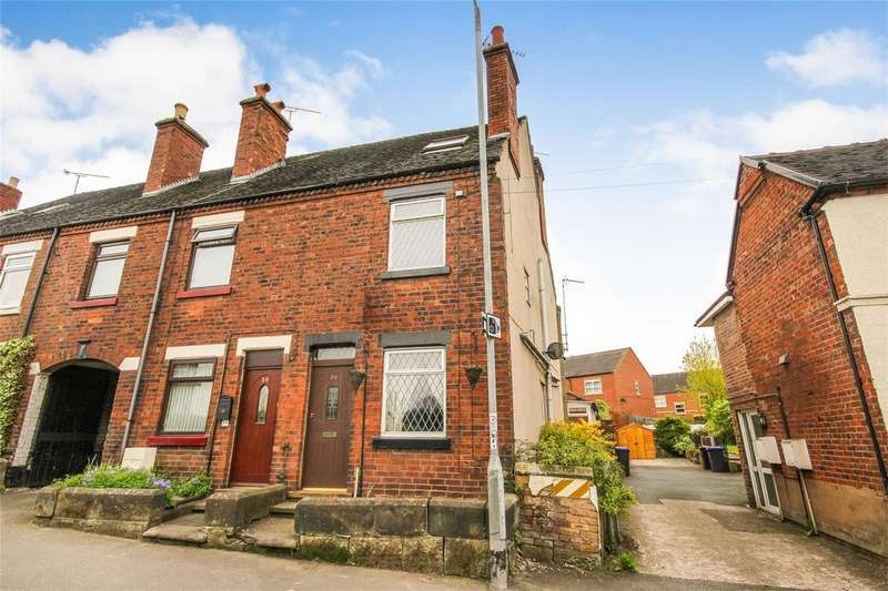 4 Bedrooms Semi Detached House for sale in New Road, Tean, Staffordshire