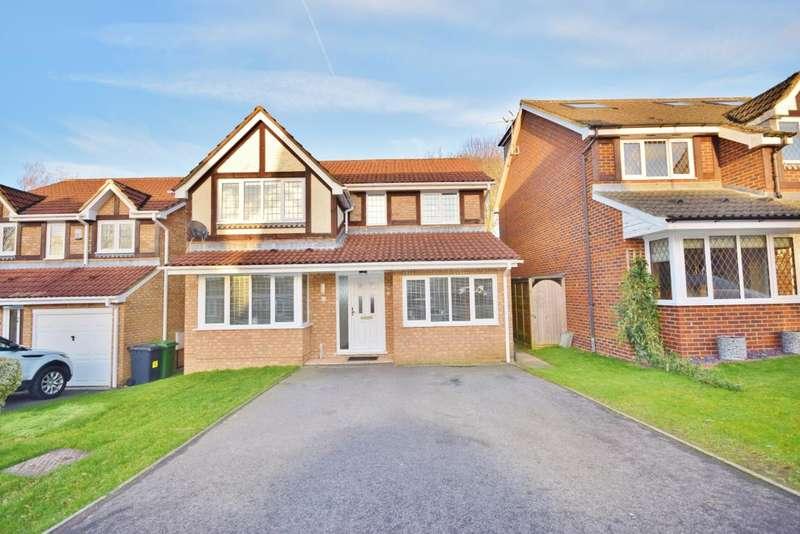 5 Bedrooms Detached House for sale in Hatch Warren, Basingstoke, RG22