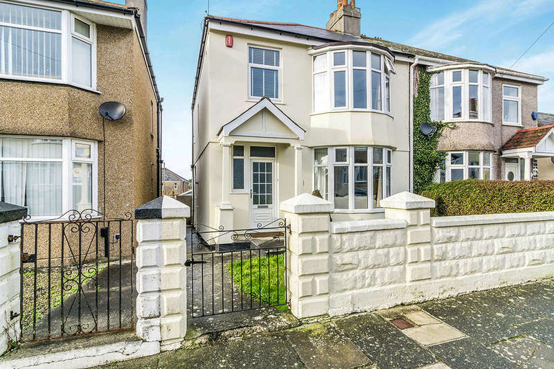 3 Bedrooms Semi Detached House for sale in Orchard Road, Plymouth, PL2