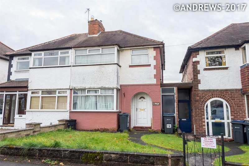 2 Bedrooms Semi Detached House for sale in Atlantic Road, Great Barr, BIRMINGHAM